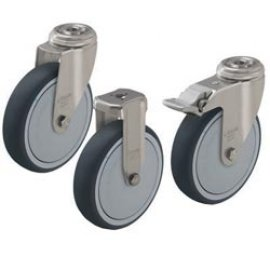 колеса для покупательских тележек