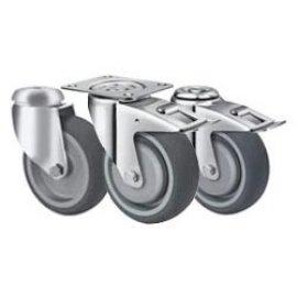 резиновые серые колеса