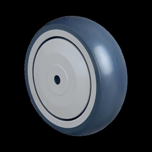 Колесо аппаратное 80 мм MBT 80, диск-пропилен