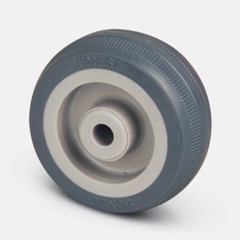 Колесо аппаратное 75 мм MKT 75, диск-пропилен