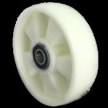 Колесо полиамидное опорное для рохли 200 мм, подшипник не втоплен