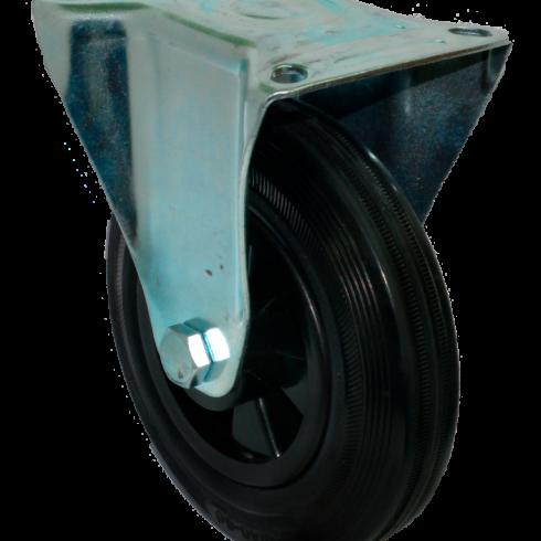 Колесо для мусорных контейнеров неповоротное 160 мм FC63K