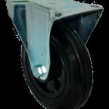 Колесо для мусорных контейнеров неповоротное 200 мм FC80K