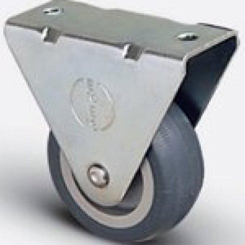 Колесо неповоротное мебельное 75 мм EP02 MKT 75, диск-пропилен