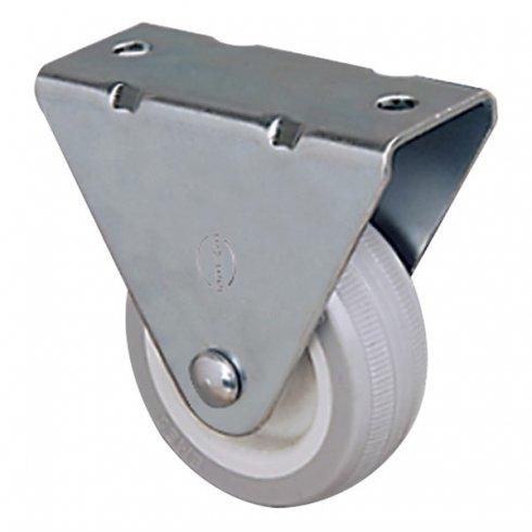 Колесо неповоротное мебельное 50 мм EP 02 MKT 50, диск-пропилен