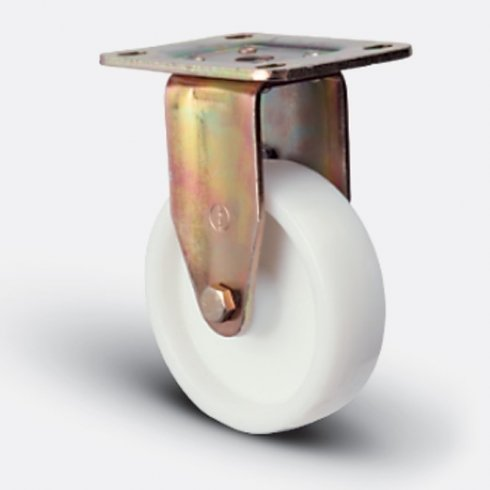 Колесо большегрузное нейлоновое неповоротное 125 мм ED02 HKZ 125