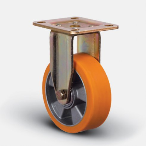 Колесо полиуретановое неповоротное 150 мм ED02-ABP-150