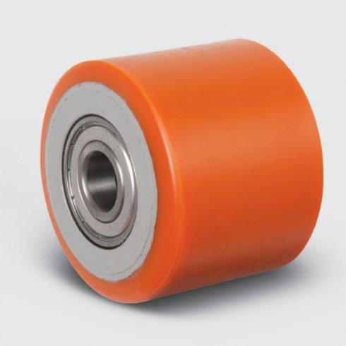 Ролик для рохли,  полиуретановый 80х70 VBP-80-70 мм