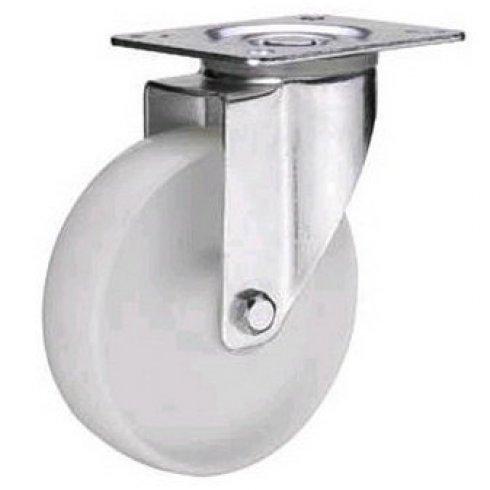 Колесо нейлоновое поворотное 125 мм