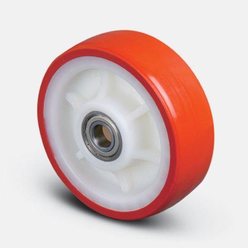 Купить колесо полиуретановое, 100 мм ZBP 100 ED
