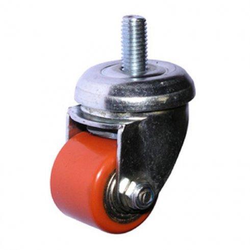 Колесо полиуретановое поворотное с болтом М10 35 мм 903035Т