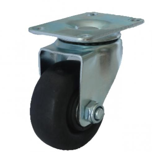 Колесо термостойкое фенольное поворотное 125 мм