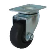 Колесо термостойкое фенольное поворотное 75 мм