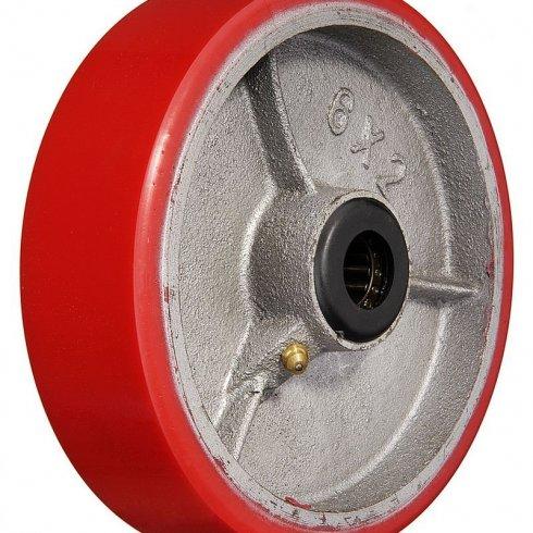 Колесо полиуретановое без кронштейна большегрузное 125 мм P55