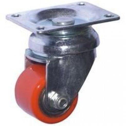 Колесо полиуретановое поворотное 35 мм 903035