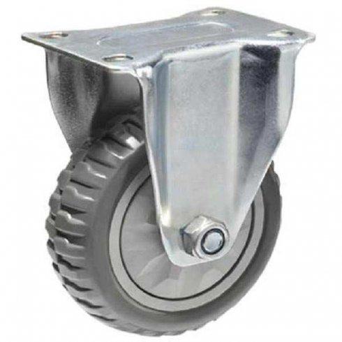 Колесо промышленное литое неповоротное 125 мм