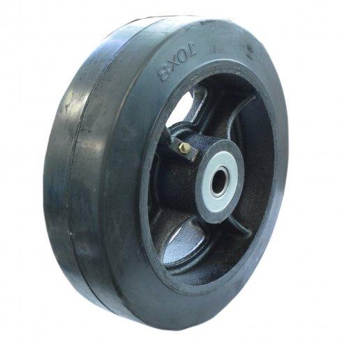 Колесо большегрузное обрезиненное, без кронштейна 250 мм D90, нагрузка 800 кг