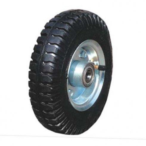 Колесо с несимметричной ступицей 200 мм, посадочный диаметр 16 мм, пневматическое