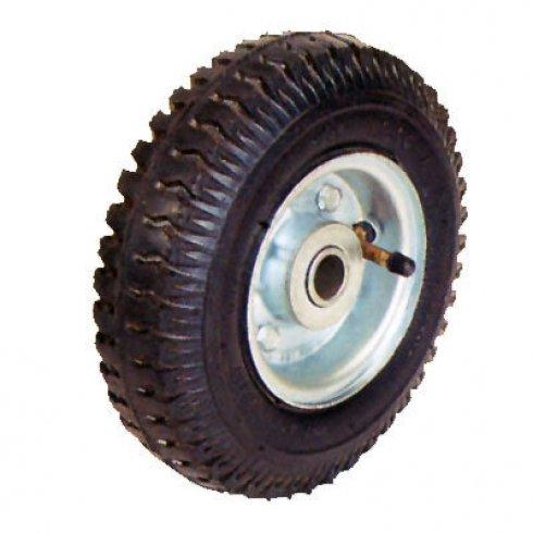Колесо с несимметричной короткой ступицей 200 мм, посадочный диаметр 20 мм, пневматическое