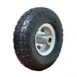 Колесо с несимметричной металлической ступицей 250 мм, посадочный диаметр 16 мм