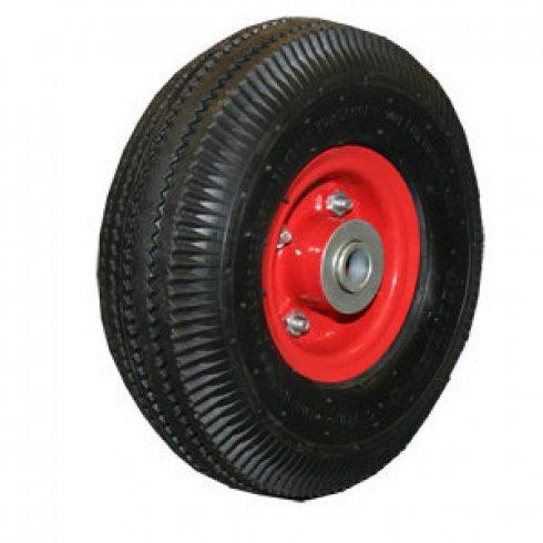 Колесо с симметричной металлической ступицей 250 мм, посадочный диаметр 16 мм