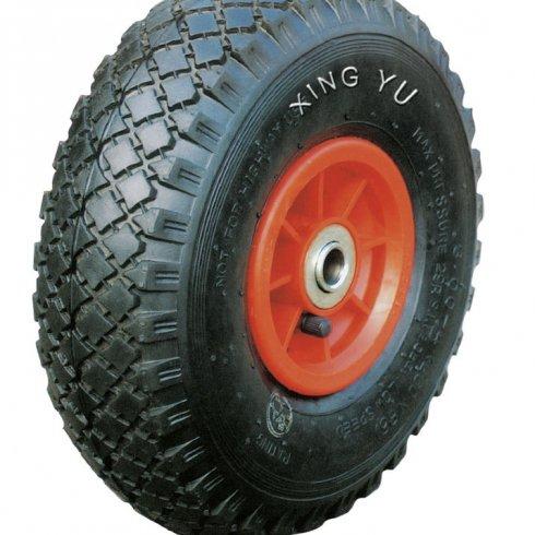 Колесо с симметричной пластиковой ступицей 250 мм, посадочный диаметр 20 мм