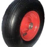 Колесо пневматическое, металлический диск 310 мм, посадочный диаметр 16 мм