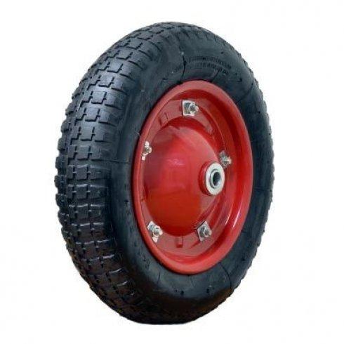 Колесо с симметричной ступицей 350 мм, посадочный диаметр 16 мм, пневматическое