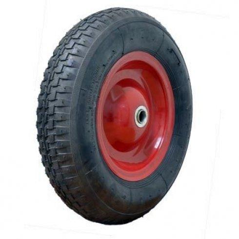Колесо с симметричной металлической ступицей 380 мм, посадочный диаметр 20 мм