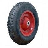 Колесо с симметричной металлической ступицей 380 мм, посадочный диаметр 16 мм