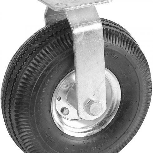 Колесо пневматическое с неповоротной опорой 250 мм
