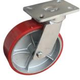 Колесо большегрузное полиуретановое сверхмощное поворотное 300 мм