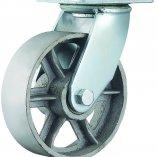 Колесо термостойкое поворотное со спицами 102 мм