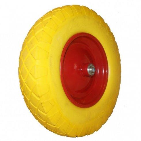 Колесо ВИНКО с симметричной  металлической ступицей 380 мм, литое, вспененный полиуретан